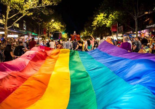 Desfile de Mardi Gras en Sydney