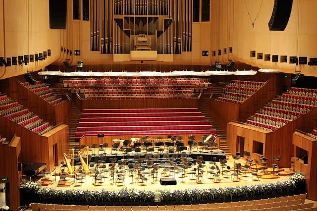 Sala de la Casa de la Ópera