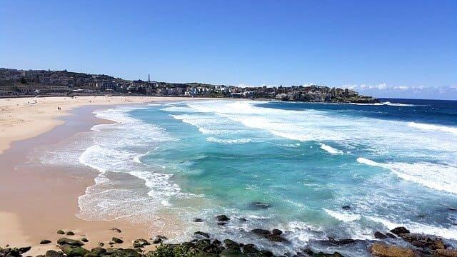 Playa Bondi, una de las mejores playas en Sydney