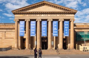 Entrada de la Galería de Arte de NSW, uno de los mejores museos en Sydney