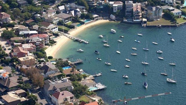 Lady Martins una de las playas escondidas de Sydney