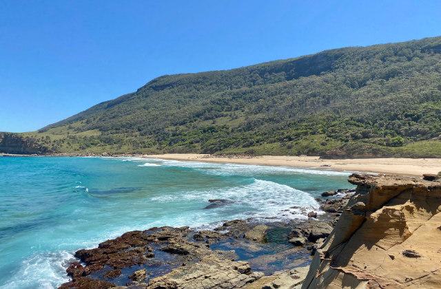 Garie Beach, una de las mejores playas escondidas en Sydney