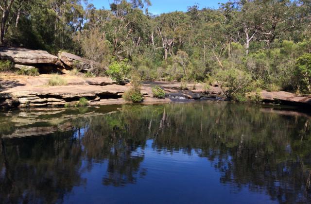 Karloo pools. Piscinas naturales en Sydney dentro del Royal National Park