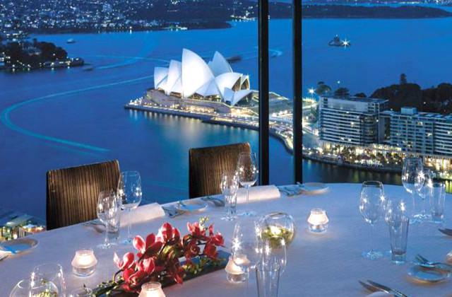 Vista desde el piso 36 del hotel Shangri-La