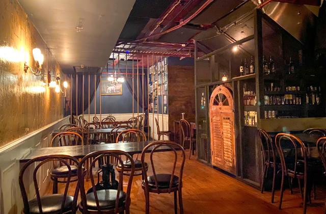 Parte trasera del bar Stitch. Uno de los bares escondidos en Sydney