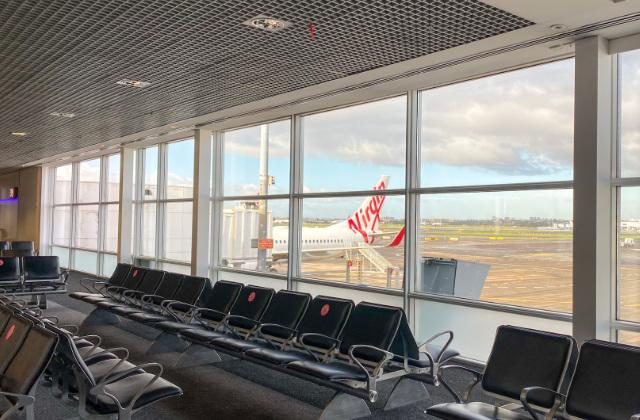 Terminal de llegadas en el aeropuerto de Sydney. Uno de los aeropuertos a los que puedes llegar con tu visa de estudiante australiana