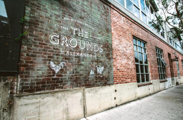 Fachada de The Grounds en el barrio de Alexandria. Uno de los lugares donde vivir en Sydney, Australia.
