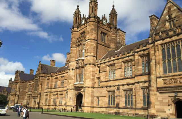 Universidad de Sydney, una de las universidades en donde estudiar con la visa de estudiante en Australia